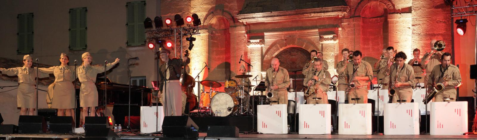 Concert Glenn Ambassadors in Pertuis in Pertuis